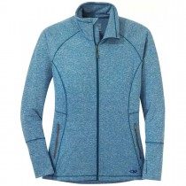 Outdoor Research Melody Full Zip Fleece Jacket - Women's - Celestial Blue Heather