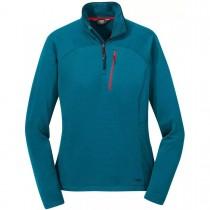 Outdoor Research Vigor Quarter Zip Fleece - Women's - Celestial Blue