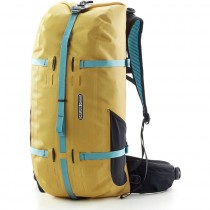 Ortlieb Atrack 35 Waterproof Rucksack/Travel Bag - Mustard