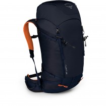 Osprey Mutant 38 Rucksack - Front Side - Blue Fire