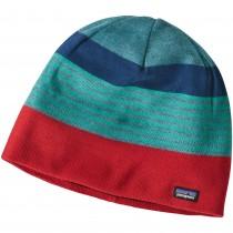 Patagonia Beanie Hat - Fitzroy Stripe: Tomato