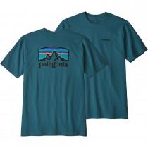 Patagonia Fitz Roy Horizons Responsibili-Tee - Tasmanian Teal