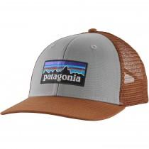 Patagonia P-6 Logo Trucker Hat - Drifter Grey