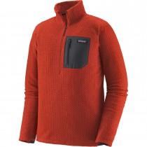 Patagonia R1 Air Zip Neck - Men's Fleece - Hot Ember