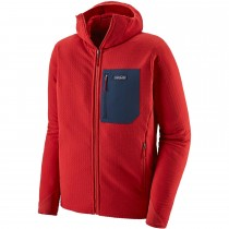 Patagonia R2 TechFace Hoody - Men's - Fire