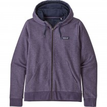 Patagonia P-6 Label French Terry Full-Zip Hoody - Womens - Piton Purple