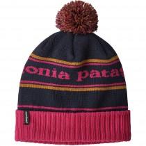 Patagonia Powder Town Beanie - Park Stripe - Craft Pink/Navy Blue