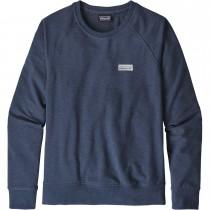 Patagonia Pastel P-6 Label Ahnya Crew Sweatshirt - Women's - Stone Blue