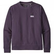 Patagonia Pastel P-6 Label Organic Crew Sweatshirt - Women's - Piton Purple