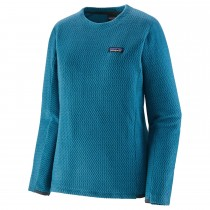 Patagonia R1 Air Crew - Women's Fleece - Steller Blue