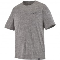 Patagonia Cap Cool Daily Shirt - P-6 Logo Feather Grey