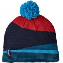 Patagonia LW Powder Town Beanie - Field Festival Knit: Crater Blue