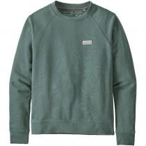 Patagonia Pastel P-6 Label Ahnya Crew Sweatshirt - Women's - Regen Green