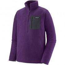 Patagonia R1 Air Zip Neck - Men's Fleece - Purple
