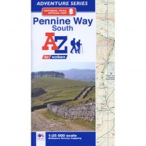 Pennine Way South: A-Z Adventure Atlas