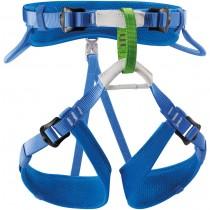 Petzl Macchu Children's Harness - Blue