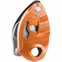 Petzl GriGri Belay Device - Red/Orange