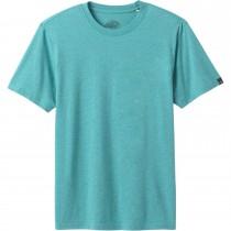 Prana Crew T Shirt - Mens - Azurite Heather