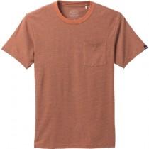 Prana Pocket T Shirt - Mens - Russet Stripe - L