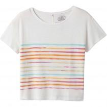 PrAna Chez Tee - Women's - Soft White Stripe