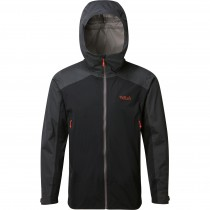 Rab Kinetic Alpine Waterproof/Softshell Jacket - Beluga
