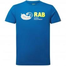 Rab Stance Vintage SS Tee - Men's - Polar Blue