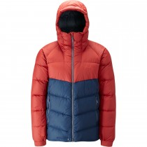 Rab Asylum Down Jacket - Rust/Deep Ink
