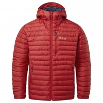 Microlight Alpine Down Jacket - Men's - Ascent Red