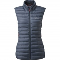 Rab Microlight Down Vest - Women's - Steel