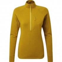 Rab Women's Nexus Pull-On Fleece - Dark Sulphur