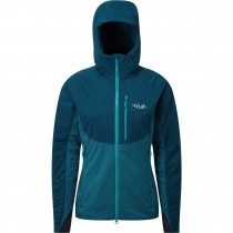 Rab Women's Alpha Direct Jacket - Atlantis/Serenity