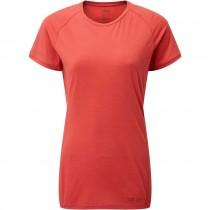 Rab Forge Short Sleeved Tee - Women's - Geranium