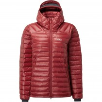 Rab Women's Microlight Summit Down Jacket - Crimson