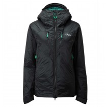 Rab Photon Pro Jacket - Women's - Black/Atlantis
