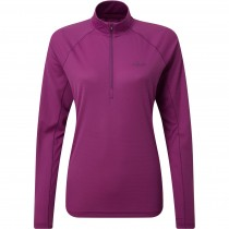 Rab Pulse Long Sleeve Zip Women's Baselayer - Violet