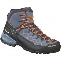 Salewa Alp Trainer Mid GTX Boots - Men's - Ombre Blue/Fluo Orange