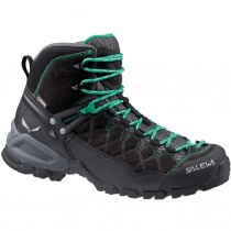 Salewa Alp Trainer Mid GTX - Women's - Blackout/Agata
