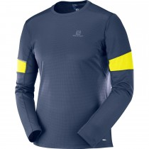 Salomon Agile LS Tee - Night Sky