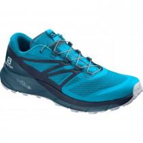Salomon Sense Ride 2 Men's Trail Running Shoes - Hawaiian Ocean/Navy Blazer/Mallard Blue