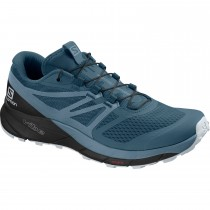 Salomon Sense Ride 2 Women's Trail Running Shoes - Mallard Blue/Bluestone/Black