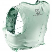 Salomon Adv Skin 8 Set Women's Running Pack - Yucca/Canton