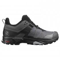 Salomon X Ultra 4 GTX Approach Shoe - Men's - Magnet/Black/Monument