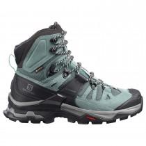 Salomon Quest 4 GTX Walking Boot - Women's - Slate/Trooper/Opal Blue