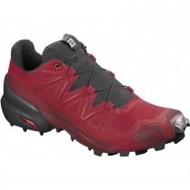 Salomon Speedcross 5 Fell Running Shoe - Men's - Barbados Cherry/Black/Red Dahlia