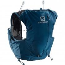 Salomon Adventure Skin 8 Set Running Pack - Women's - Poseidon/Night Sky