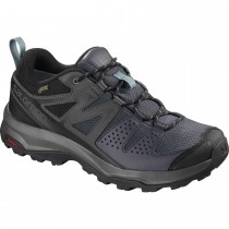 Salomon X Radiant GTX Hiking Shoes - Women's - Graphite/Magnet/Trellis
