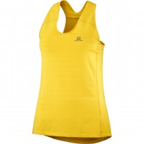 Salomon XA Tank - Women's - Sulphur/Heather