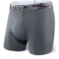 Saxx Quest 2.0 Boxer Brief - Dark Charcoal