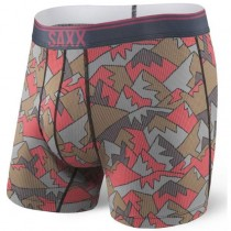 Saxx Quest Boxer Brief - Red Mountain Top