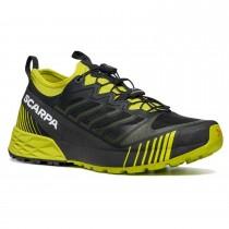 Scarpa Ribelle Run - Men's Trail running Shoe - Black/Lime
